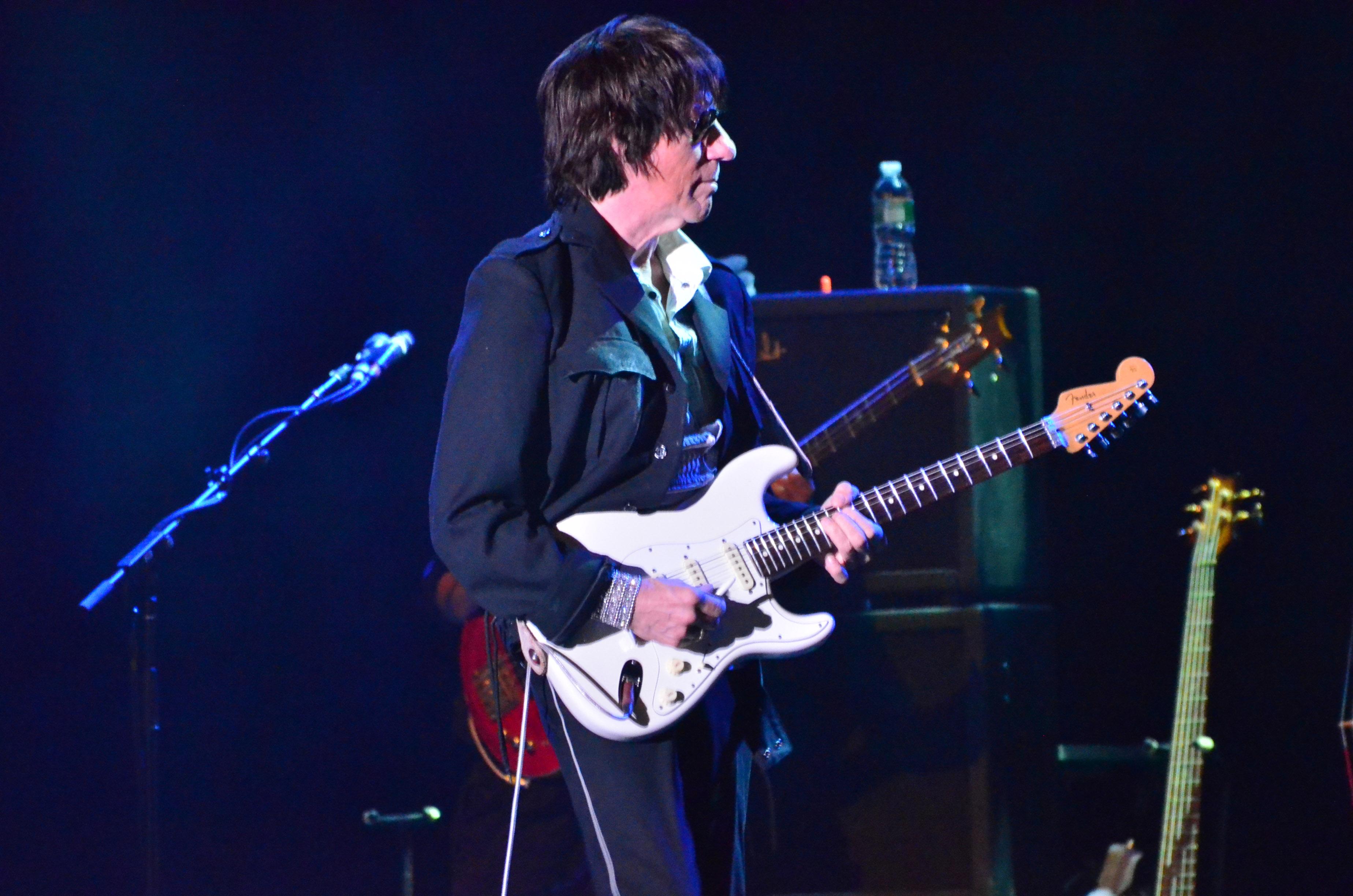 Jeff Beck at the Paramount in Huntington, ny on 4/15/2015.
