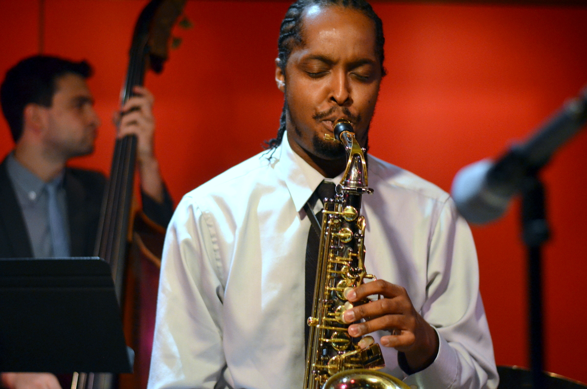 the Carl Bartlett, Jr. Quartet at Kitano Jazz Nyc on 9-25-14.