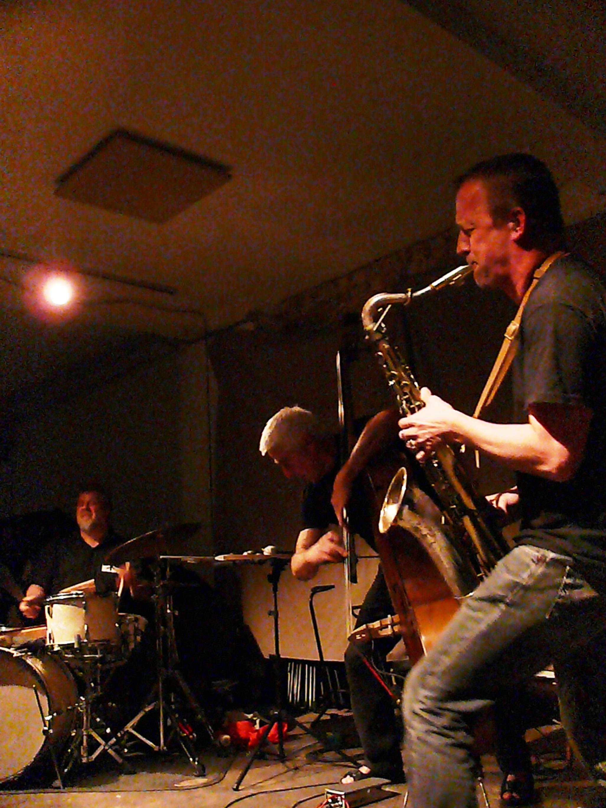 Tarfala Trio at Cafe Oto, London in May 2011