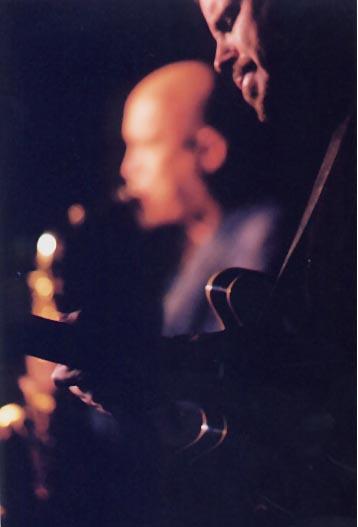 Dave Stryker and Steve Slagle at Monterey, September 2002