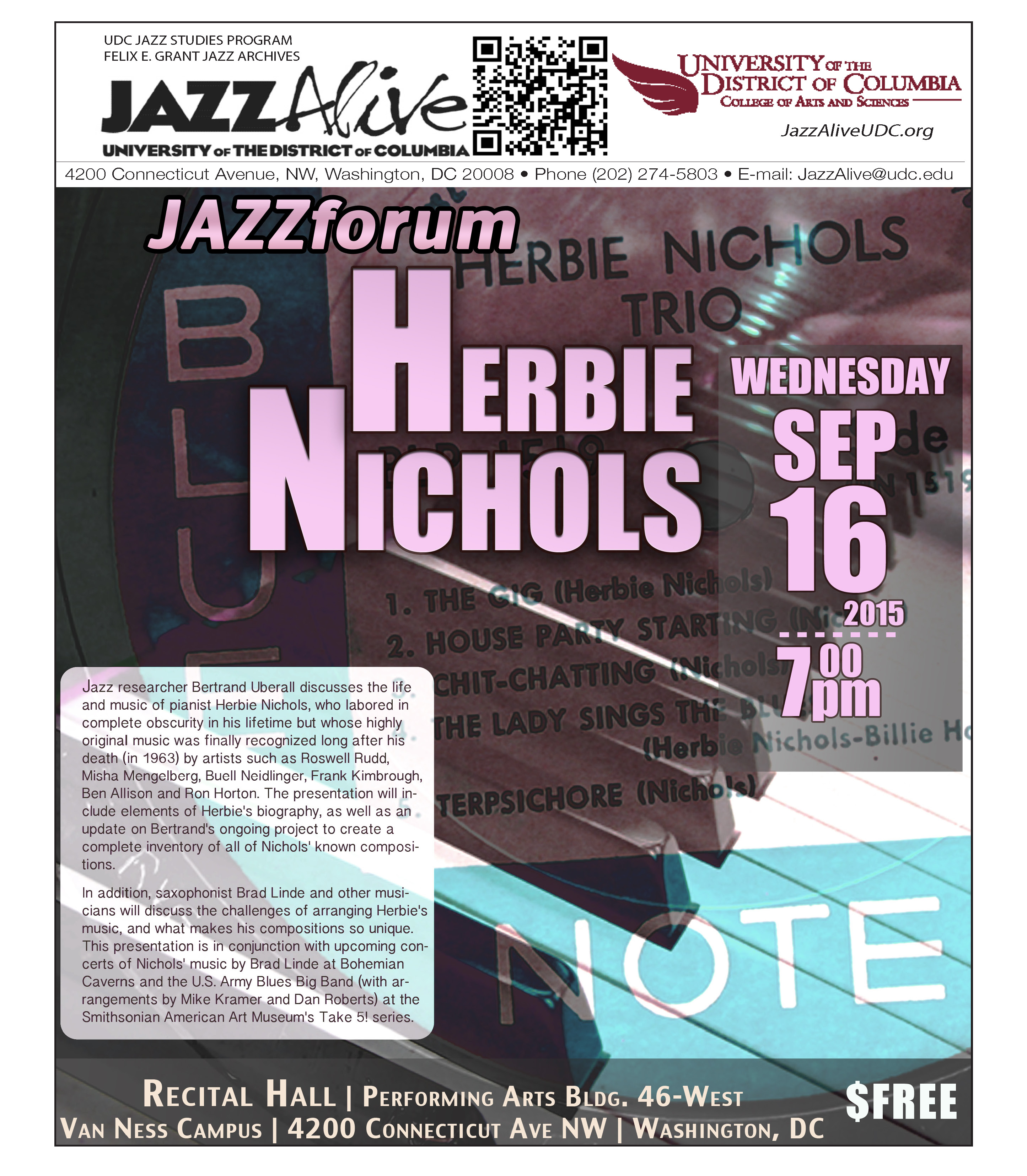JAZZforum: Herbie Nichols