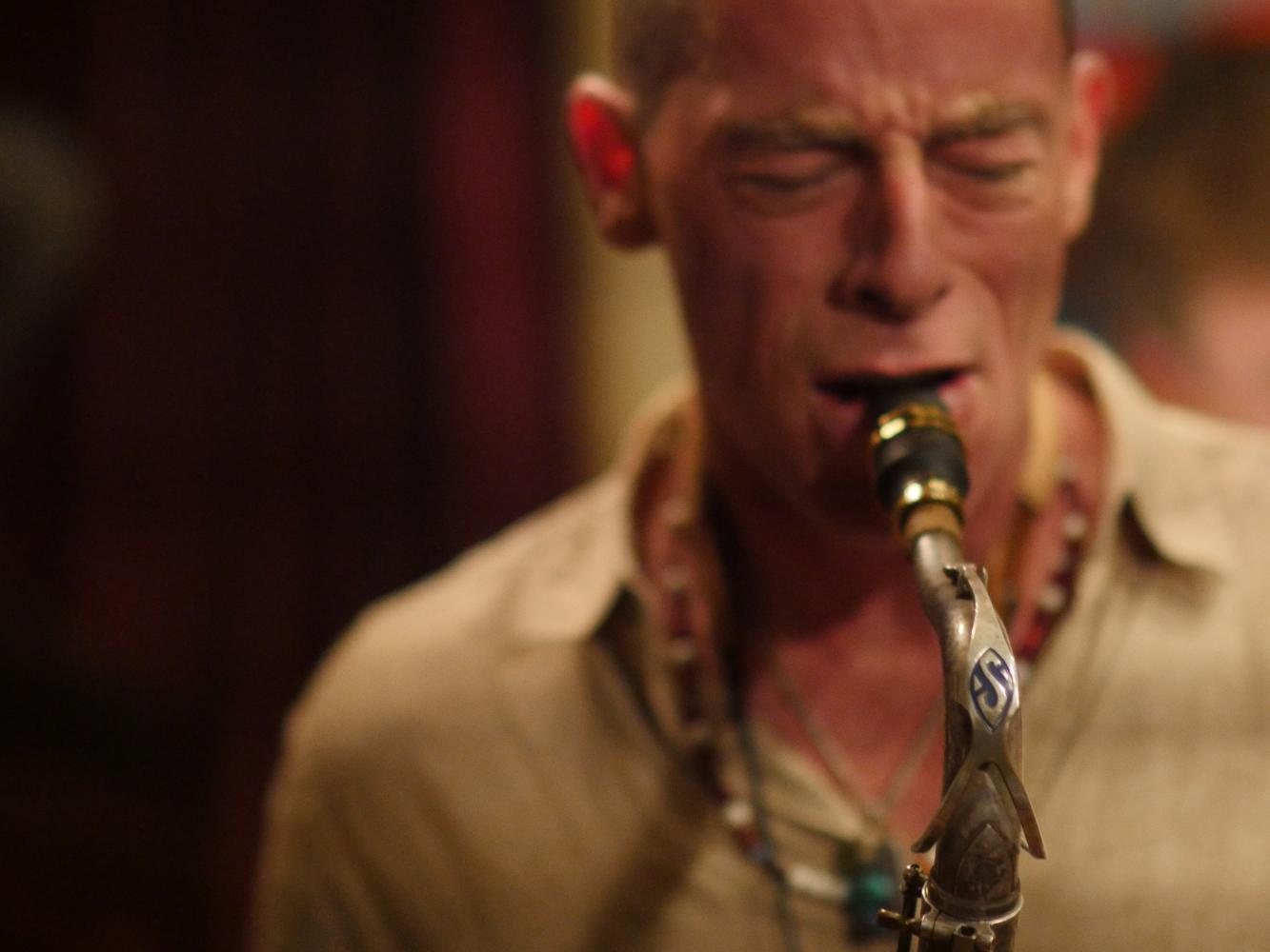 Mark Fox - Saxophones, Kamal Ngoni, Composer, Bandleader