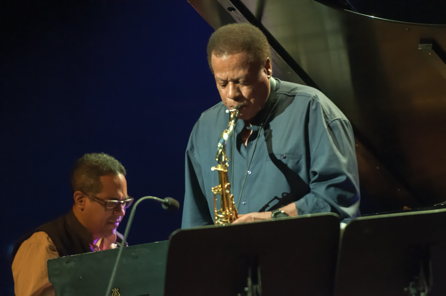 Wayne shorter and danilo perez at the montreal international jazz festival 2013