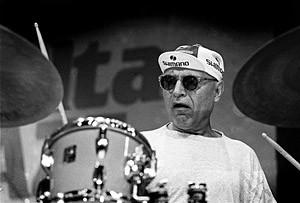 Paul Motian (1995): Paul Motian's Broadway Band with Lee Konitz on Alto Sax, Joe Lovano on Tenor and Marc Johnson on Bass.