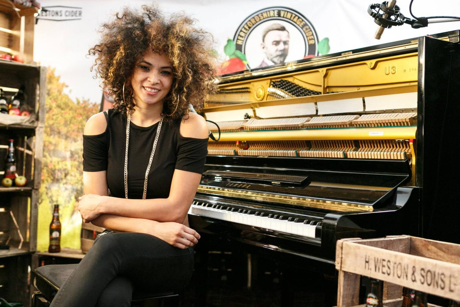 "Kandace Springs"" by Uploader Unknown - Jazz Photo"