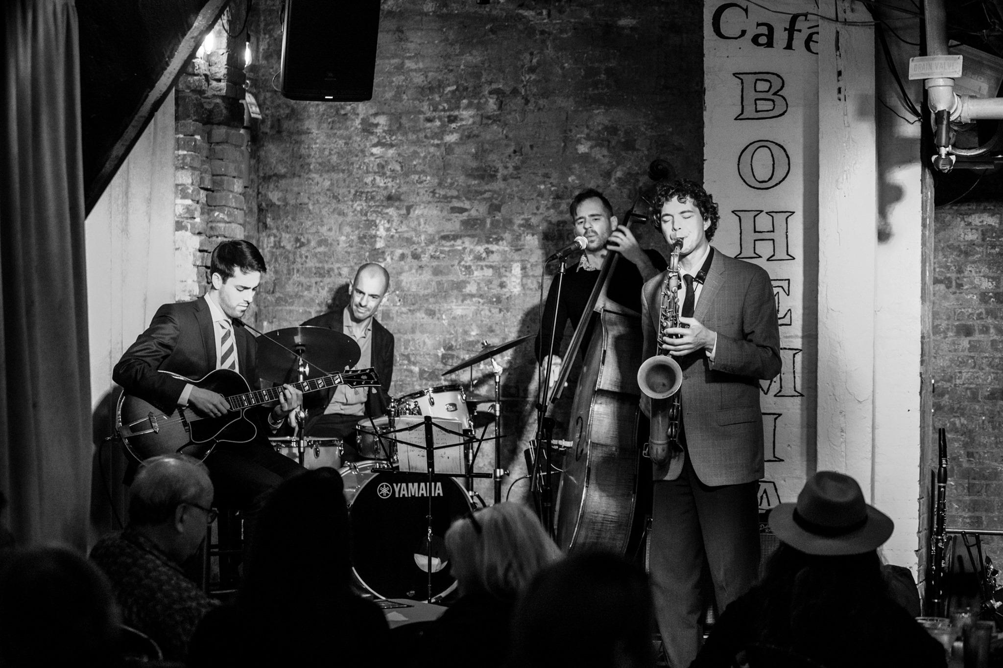 Evan Arntzen Quartet @ Cafe Bohemia