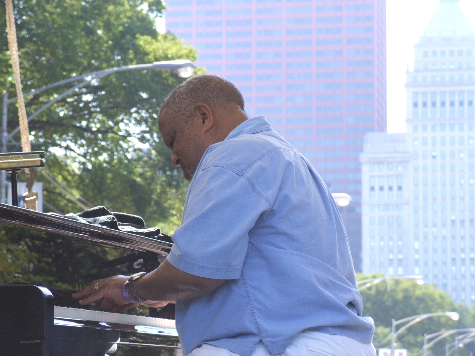 2008 Chicago Jazz Festival, Saturday: Willie Pickens (Above) Leading a Quartet Featuring Special Guest, Brian Lynch