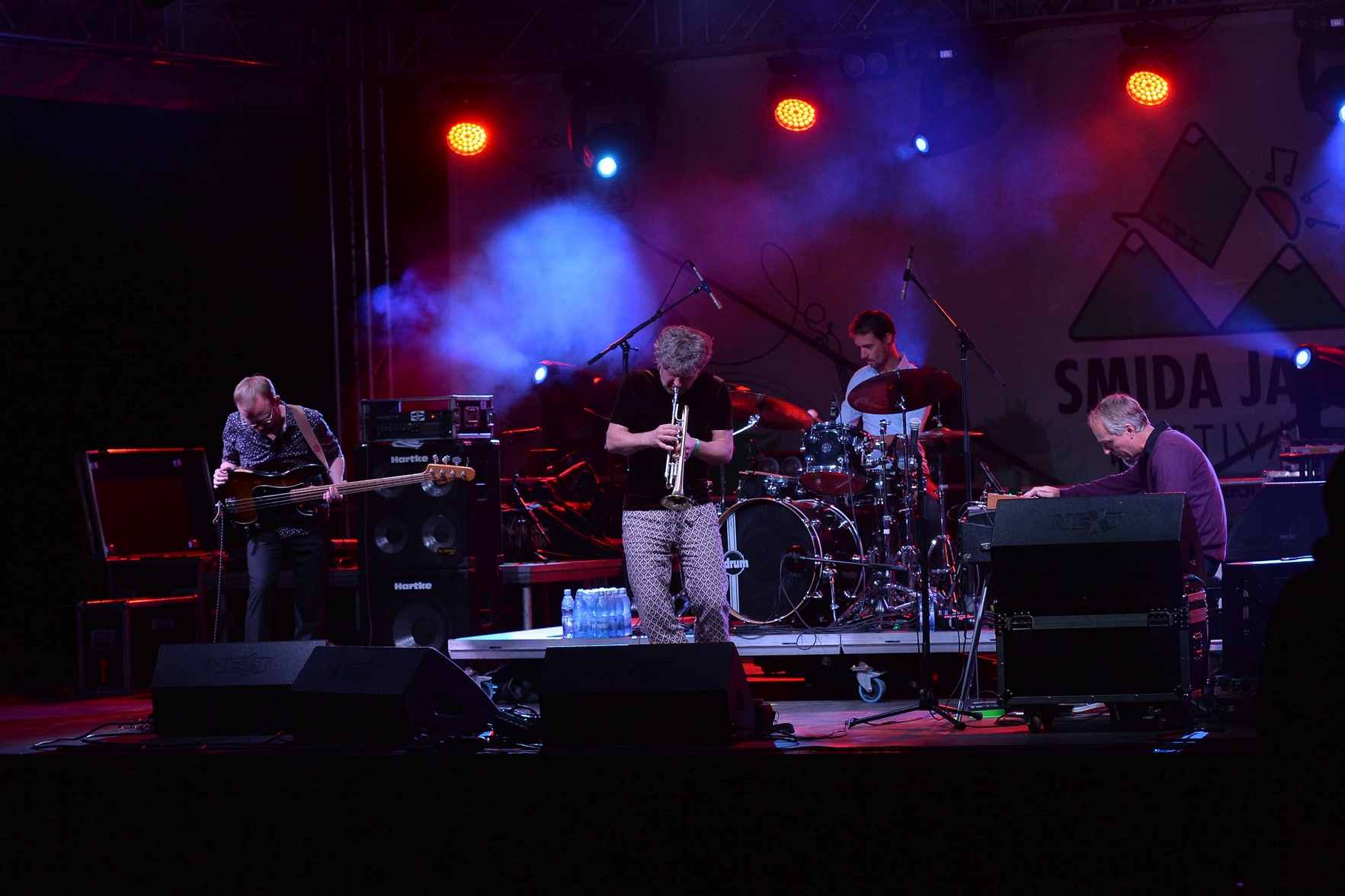 Eric Vloeimans' Gatecrash  at Smida Jazz Festival 2017