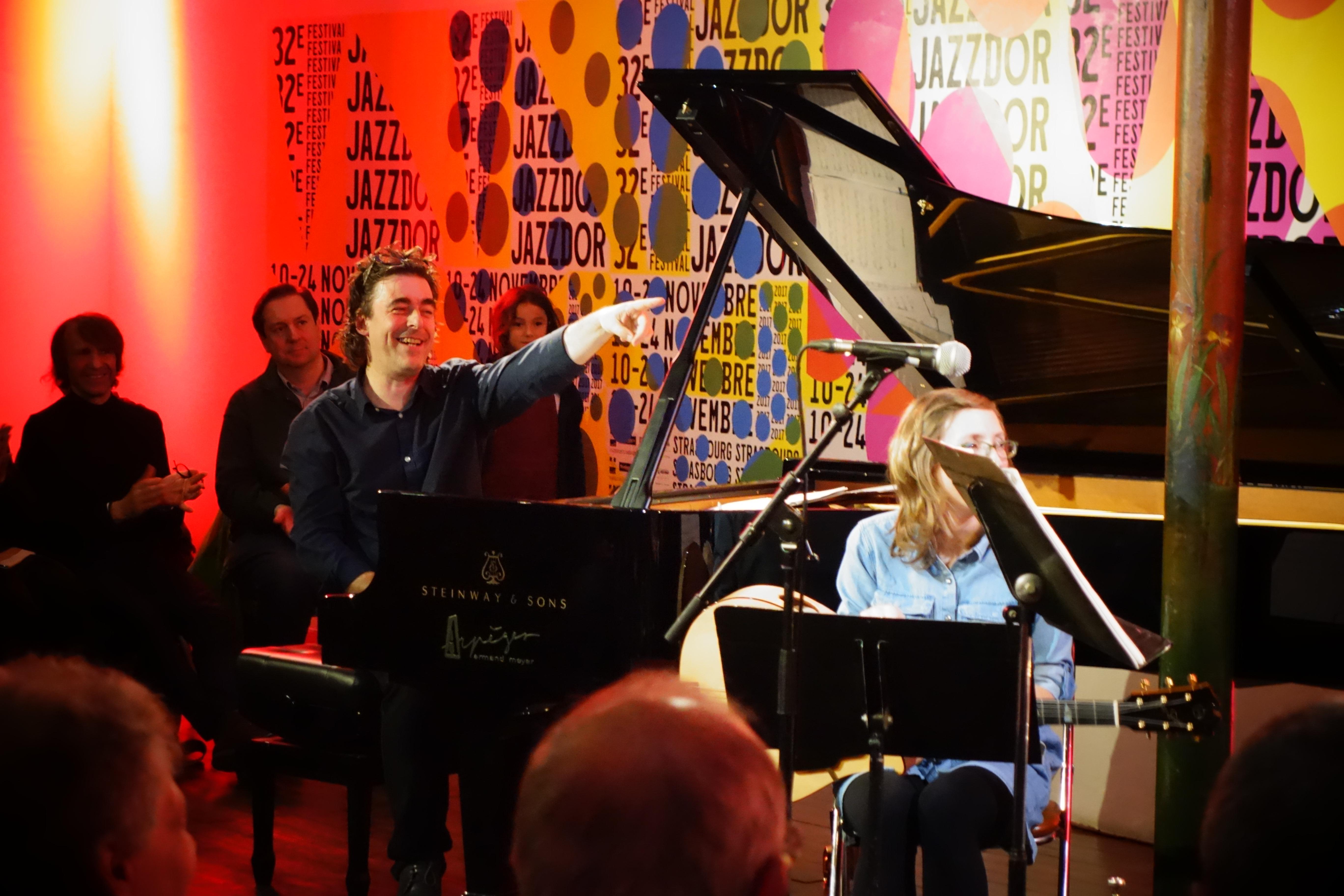 Benoit Delbecq, Mary Halvorson - Jazzdor Strasbourg 2017