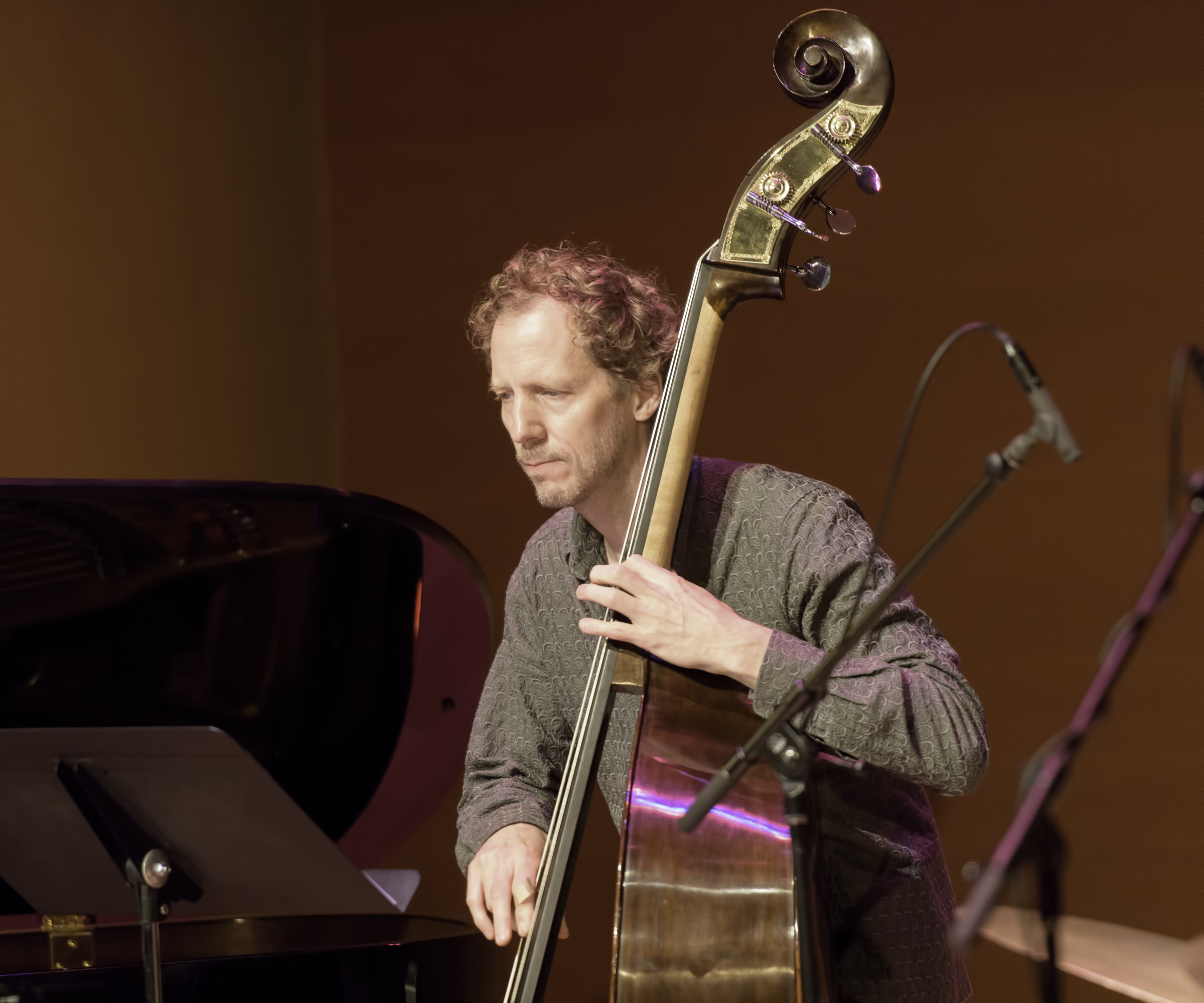Ben Street with the Chris Potter Quartet At The Musical Instrument Museum (MIM) In Phoenix