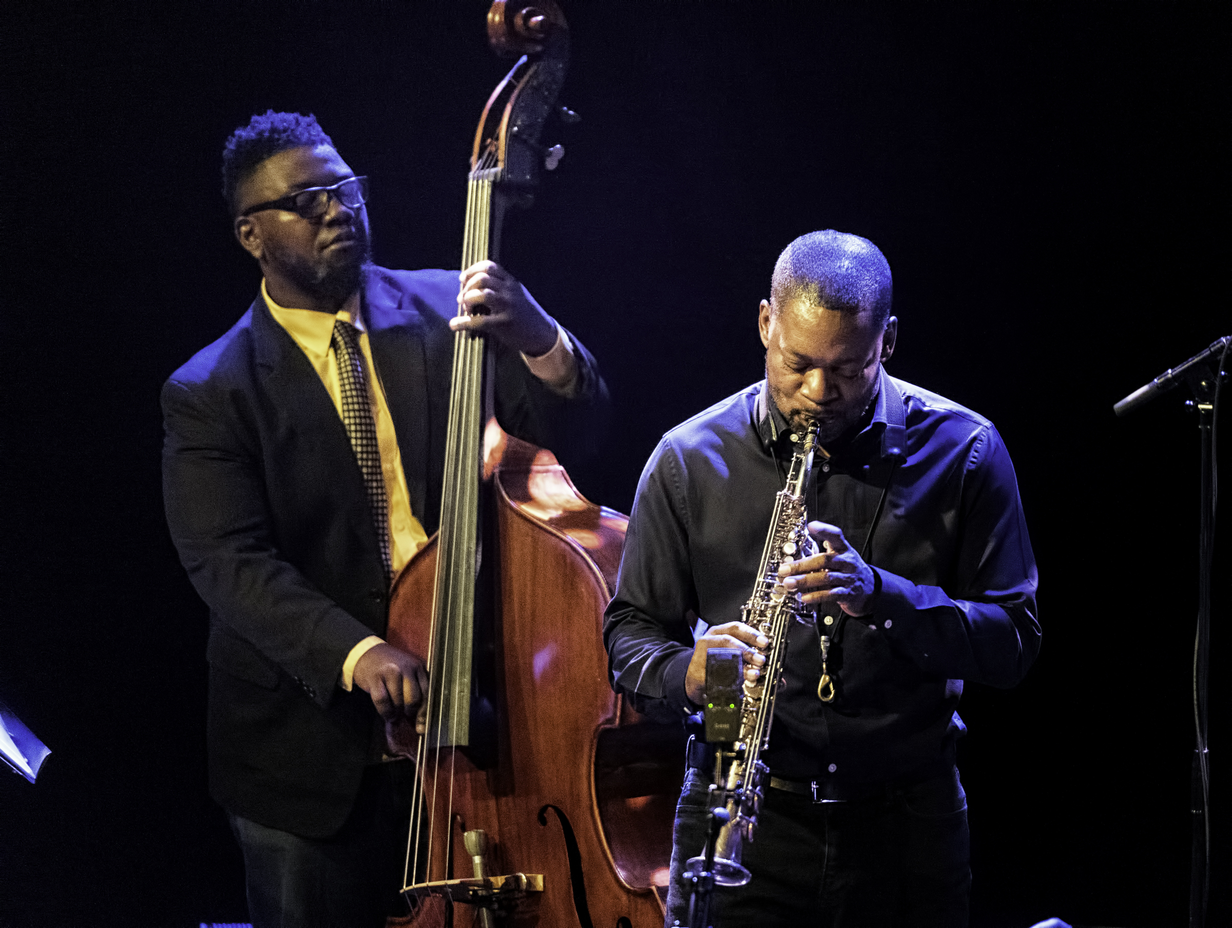 Dezron Douglas and Ravi Coltrane with the Void at The Montreal International Jazz Festival 2017