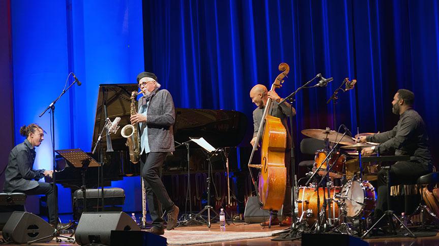 Charles Lloyd Quartet at Enjoy Jazz 2016