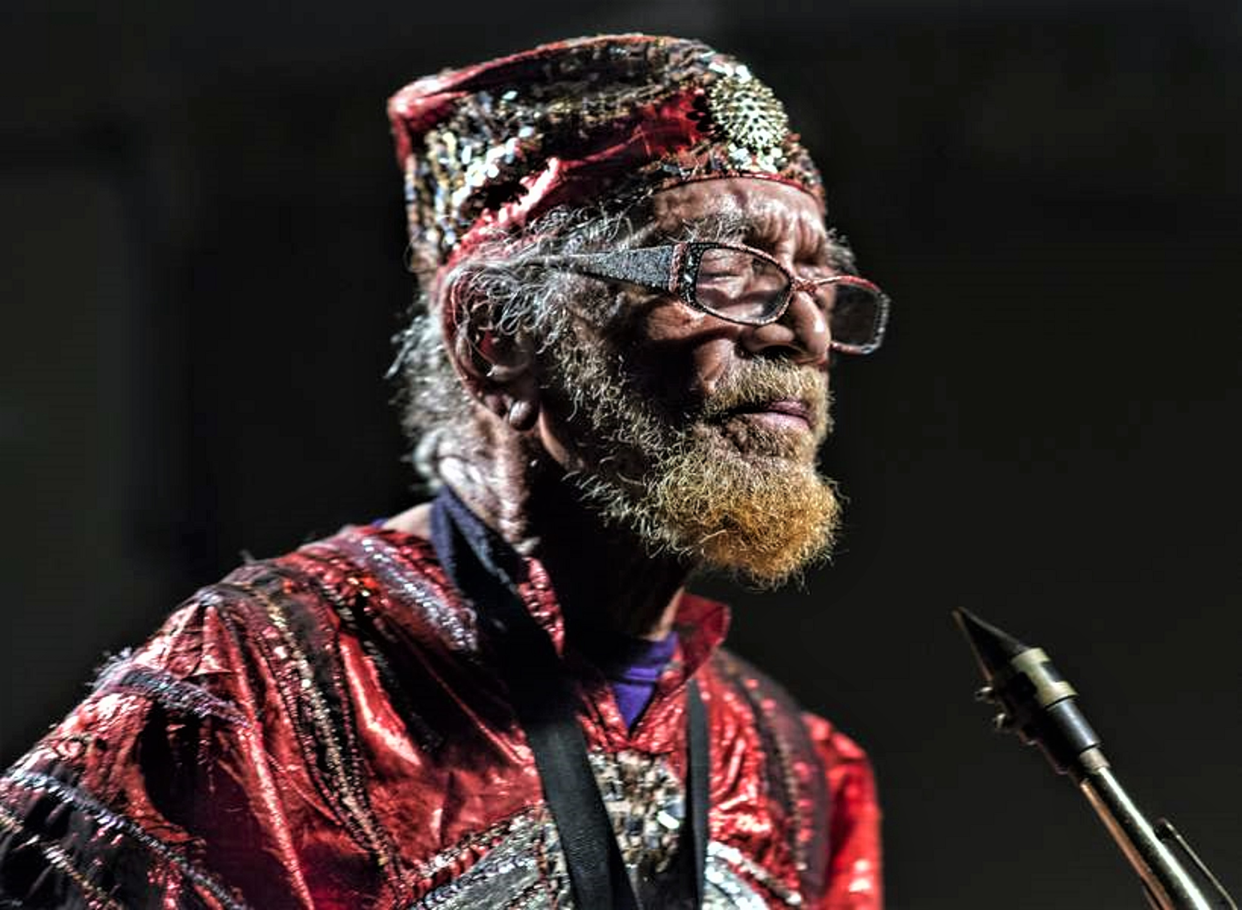 Marshall Allen at Age 95, London