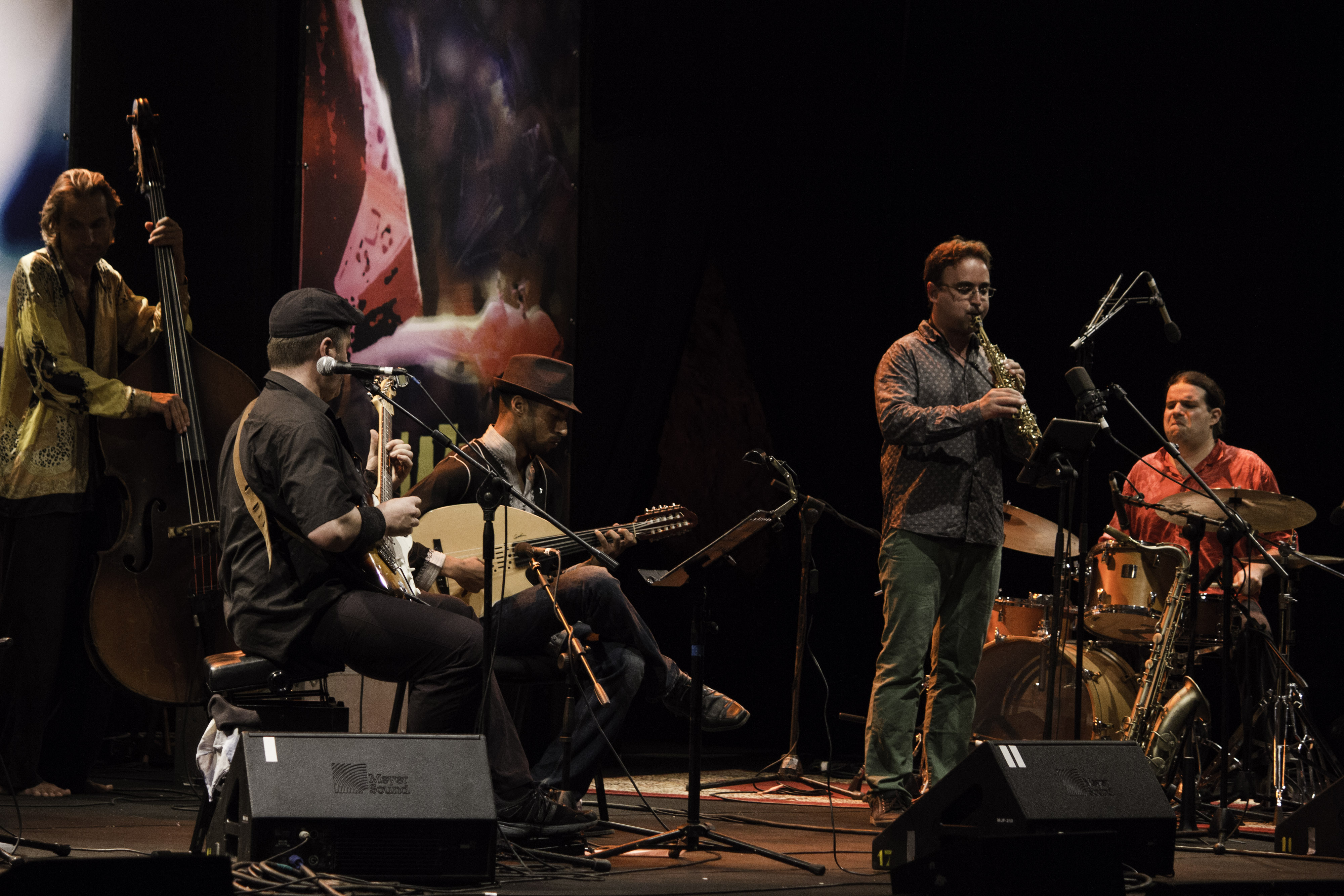 for Free Hands and Alaa Zouiten at Jazz au Chellah 2014