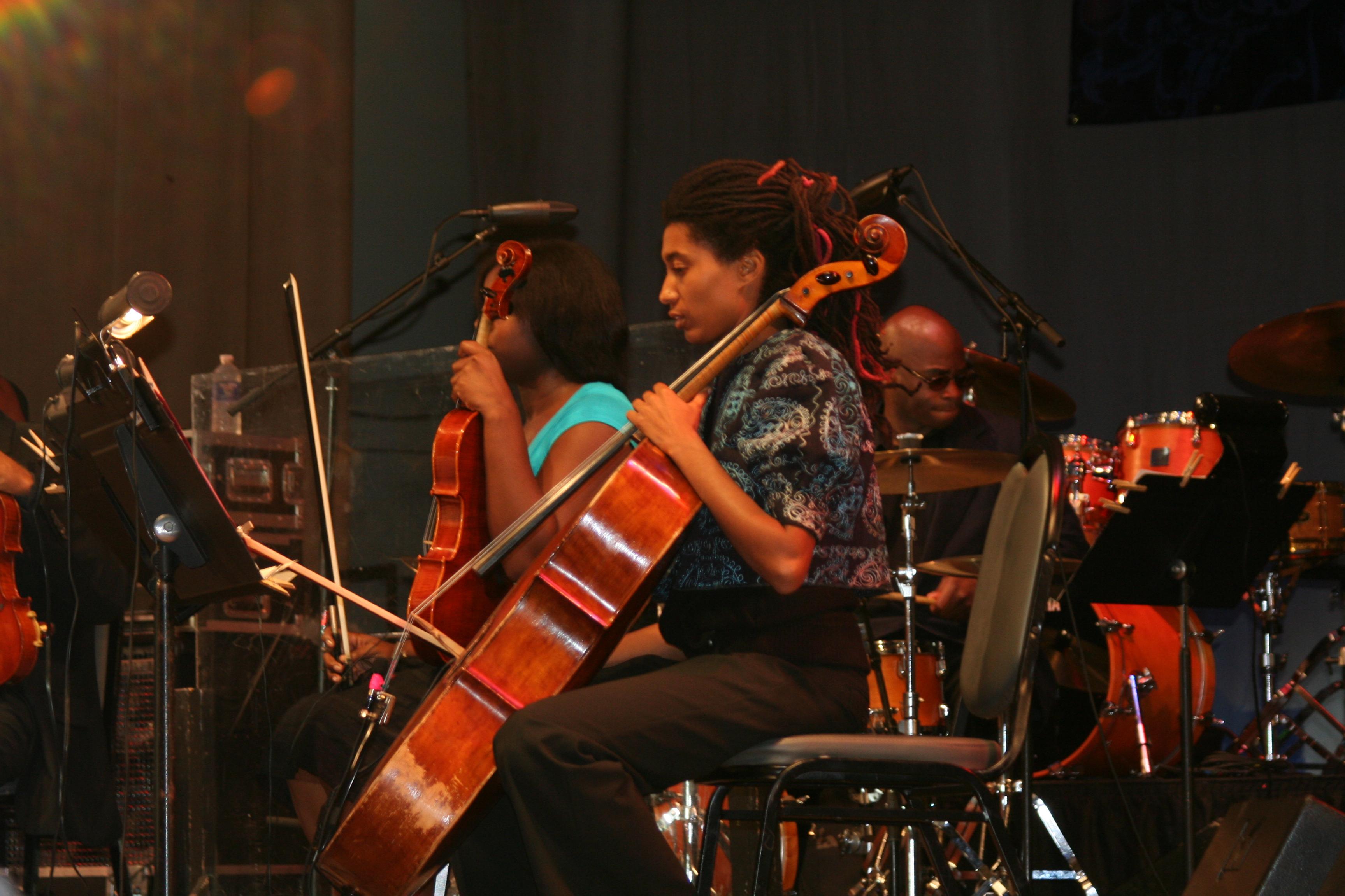 Tomeka Reid 2009 Chicago Jazzfest