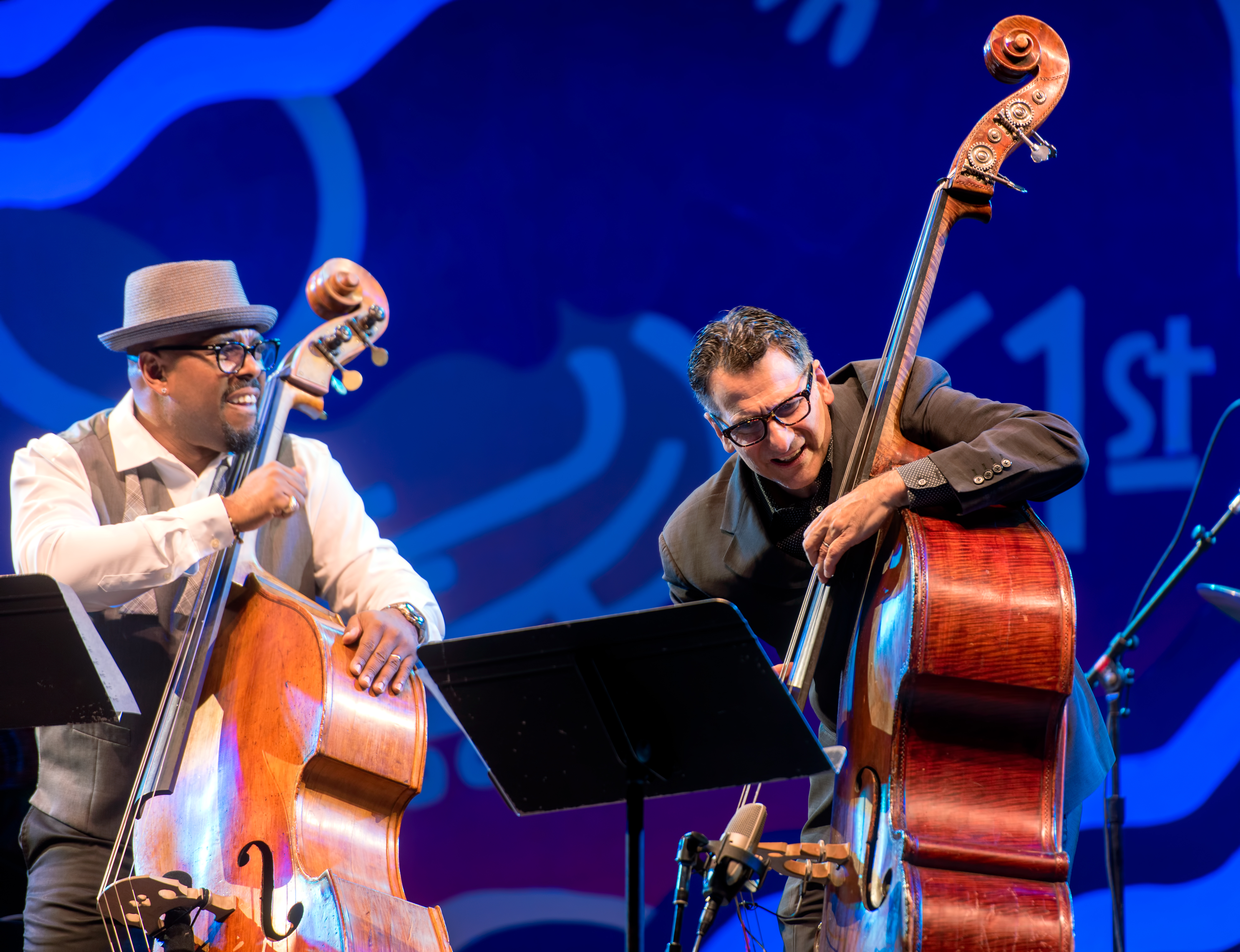 Christian McBride and John Patitucci with Remembering Ray Brown at the Monterey Jazz Festival 2018