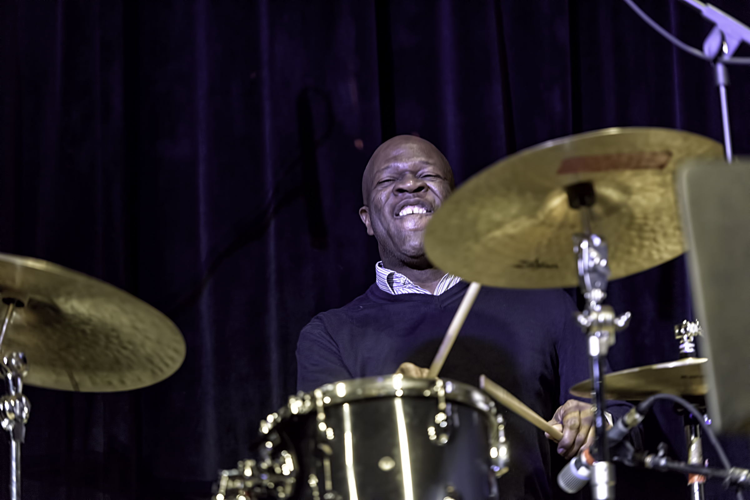 Bruce Cox With Don Byron Quartet At The Nyc Winter Jazzfest 2016