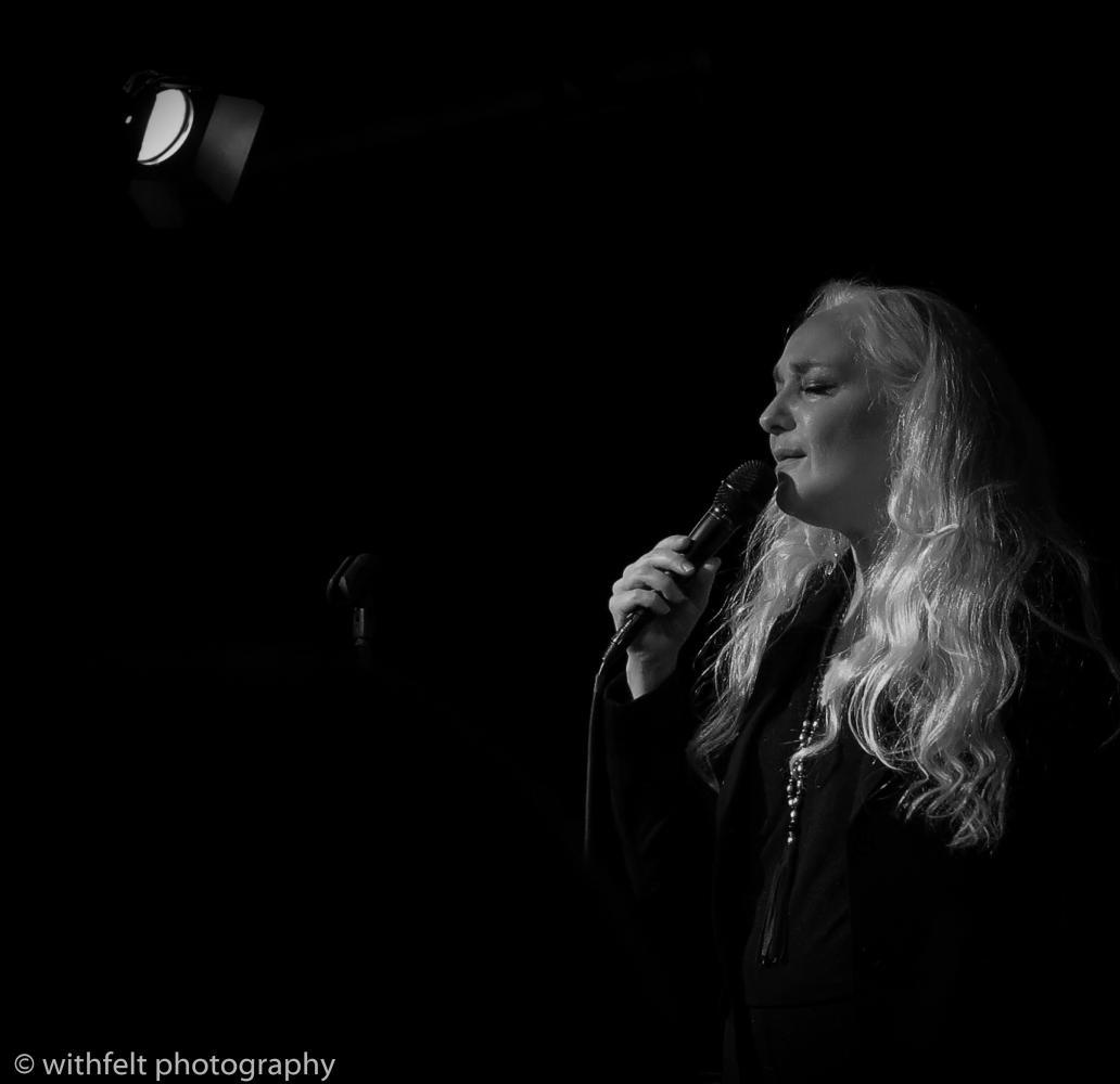 Caecilie Norby at Copenhagen Jazz festival 2016 in Krudttønden, Copenhagen
