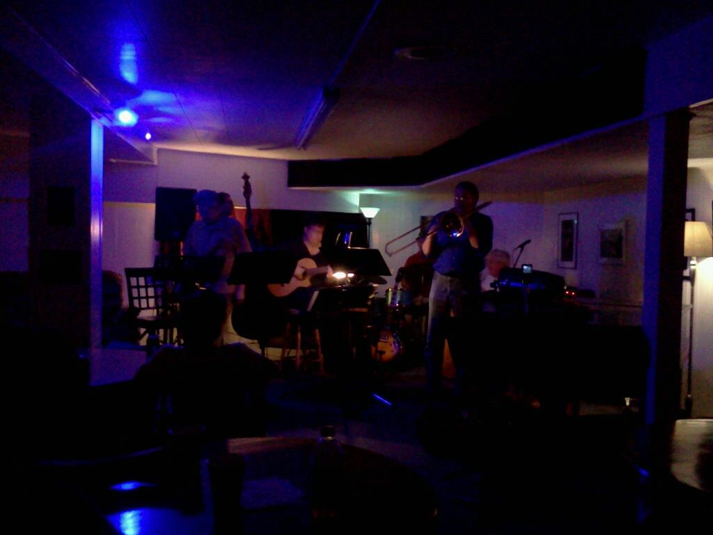 At 'Jazz Central' in Minneapolis, MN Sept. 12, 2011