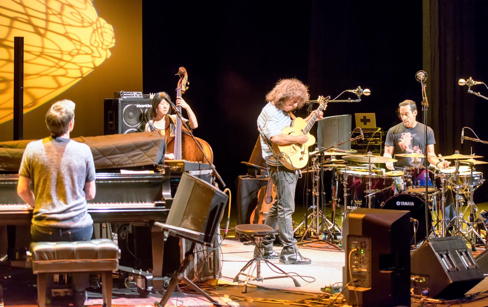 Gwilym Simcock, Pat Metheny, Linda Oh and Antonio Sanchez at the Scottsdale Center for the Performing Arts, Scottsdale, AZ