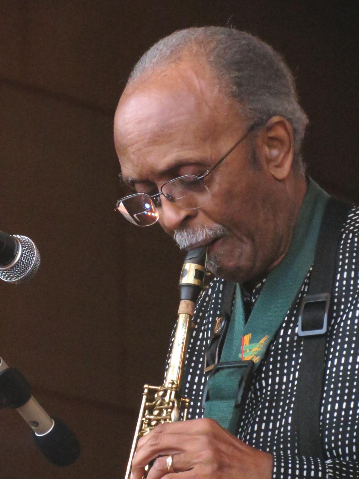 Jimmy heath leading his quartet at 2013 chicago jazz festival