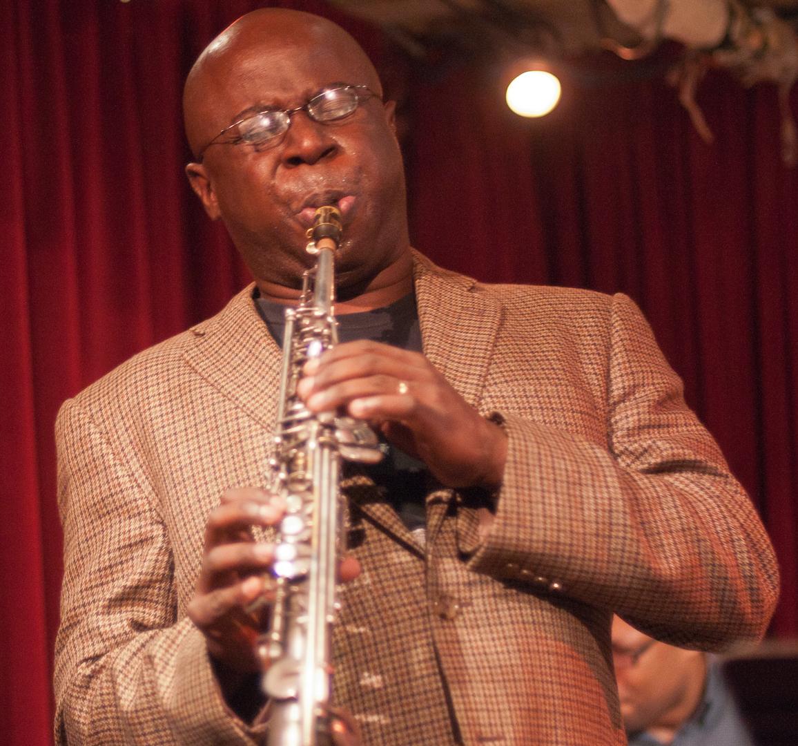 Sam Newsome with the David Liebman/Sam Newsome Quartet at Cornelia Street Cafe