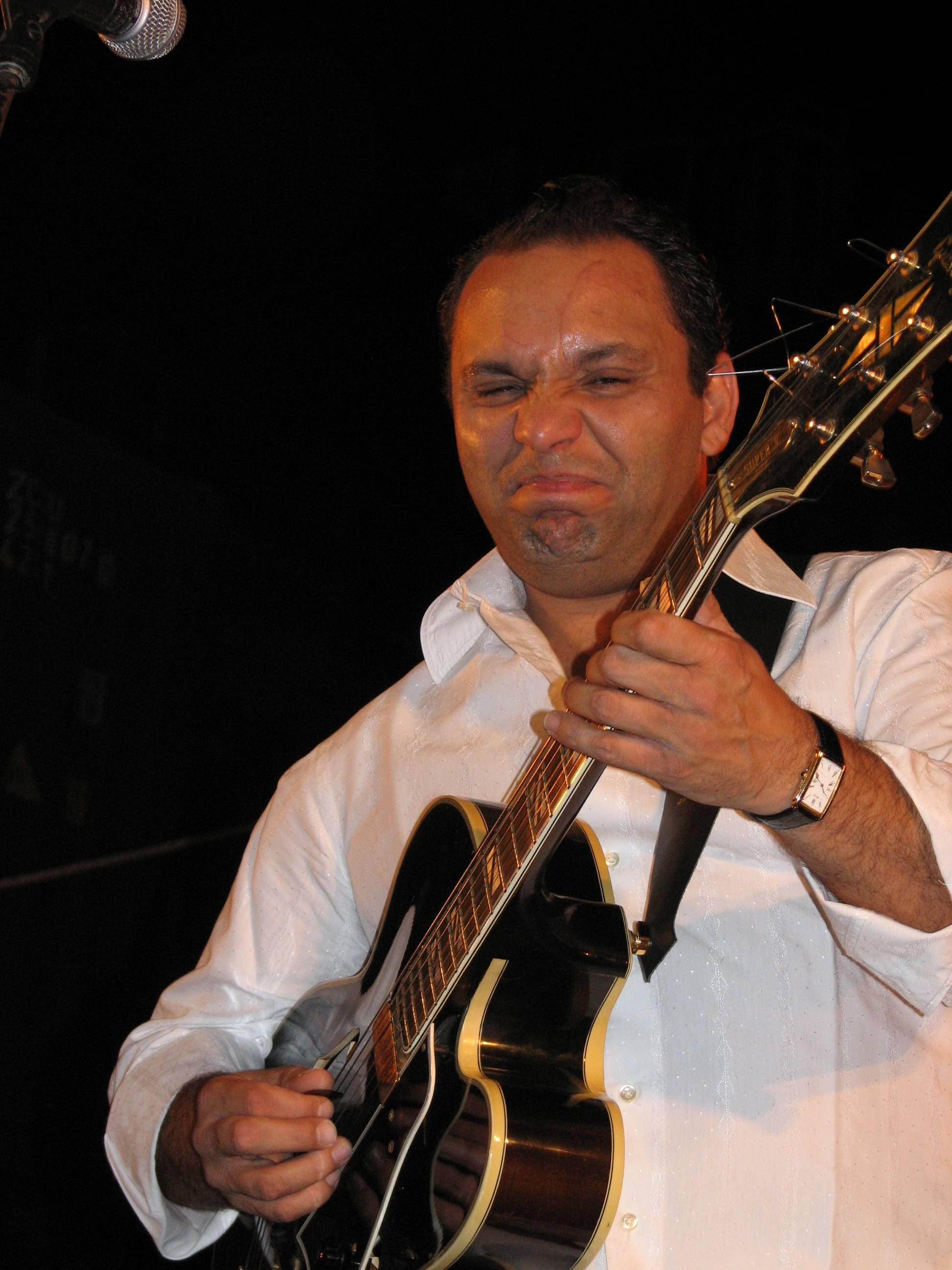 2007-08-29 Bireli Lagrene (Gypsy Project) 3 , Red Sea Jazz Festival, Eilat, Israel