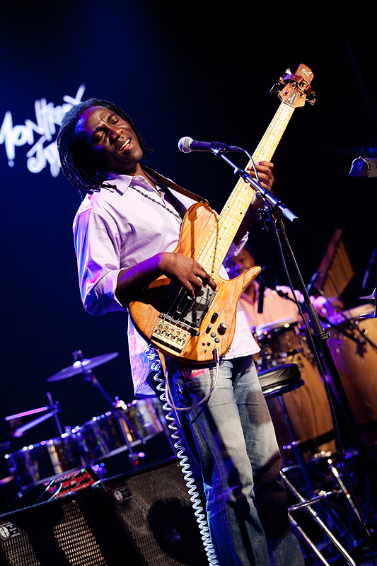 Richard Bona at Montreux Jazz 2010