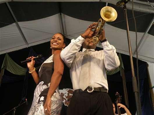 Stephanie Jordan and Marlon Jordan