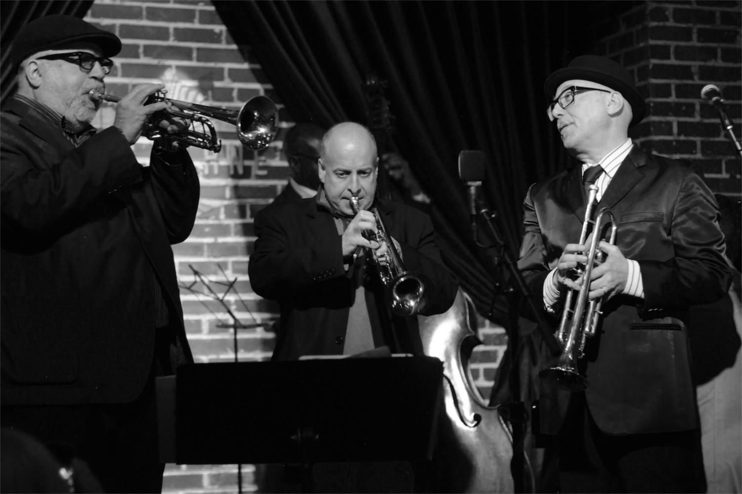 Randy Brecker, Greg Gisbert, Brian Lynch