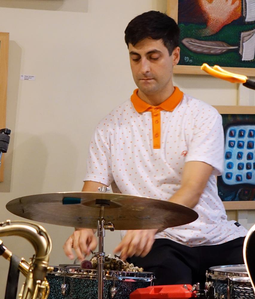 Brandon Valdivia At Guelph Jazz Festival 2016