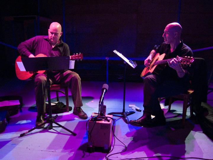 Scott Fields and Elliott Sharp - Living Theater 2008