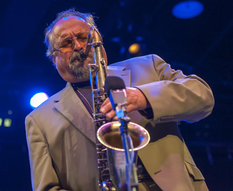Joe Lovano at Jazz for Obama at Symphony Space