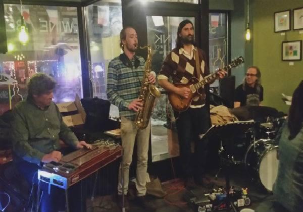 B Sharp Jazz Jam W/the Ian Crocker Trio