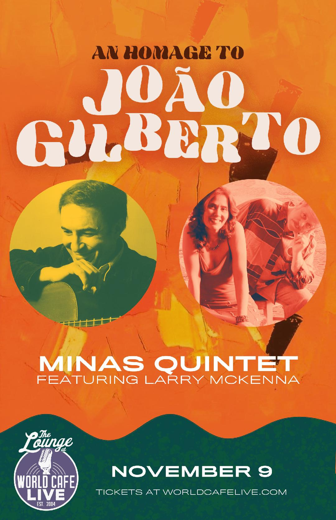 Minas - Tribute To Joao Gilberto featuring Larry McKenna
