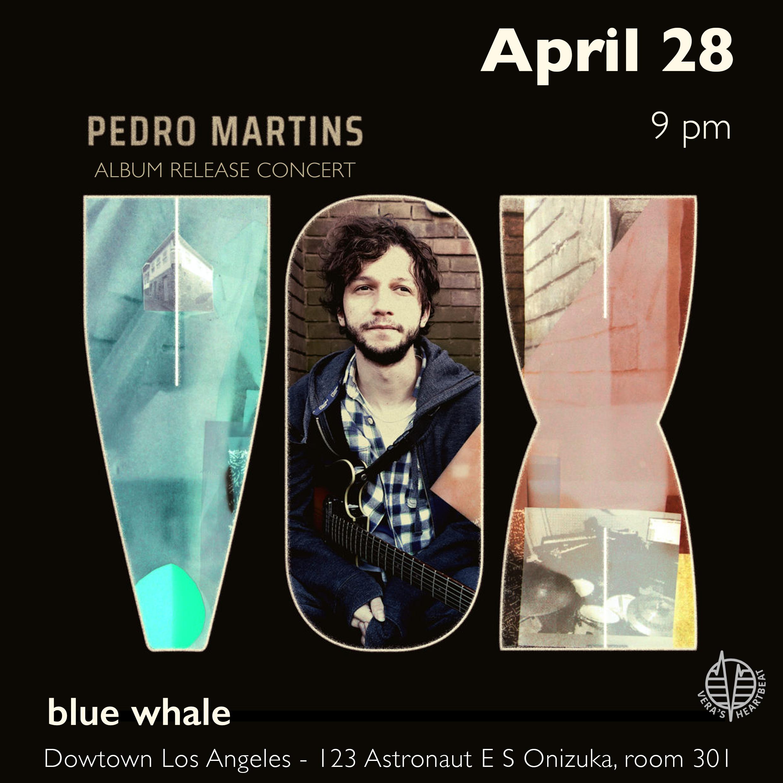 Pedro Martins CD Release Concert
