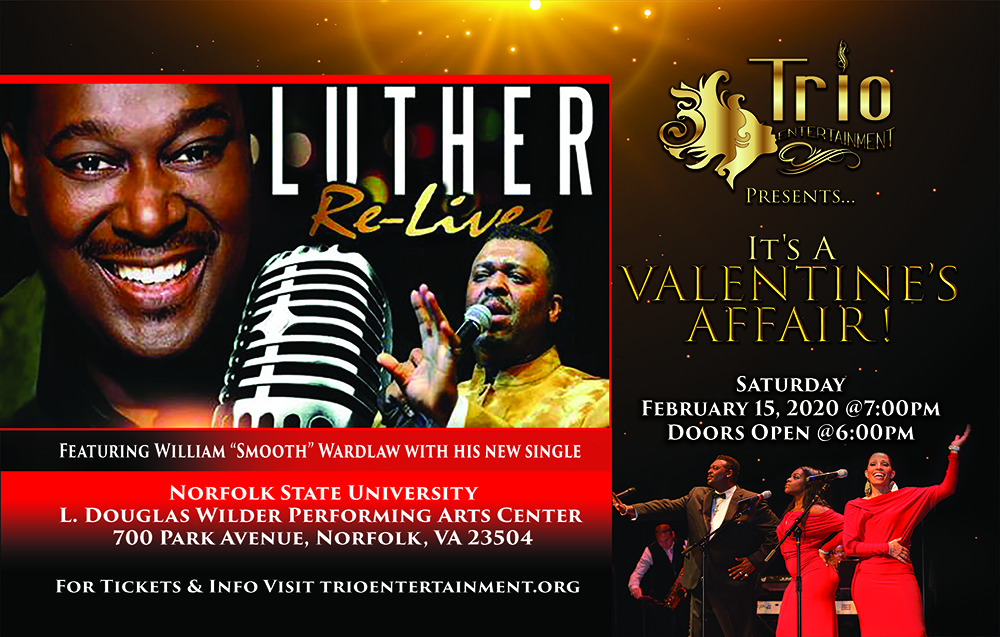 It's A Valentine's Affair! Featuring Luther Relives!