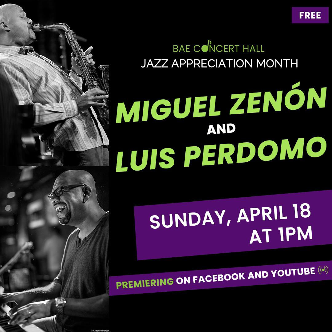 Jazz History Month: Miguel Zenón And Luis Perdomo