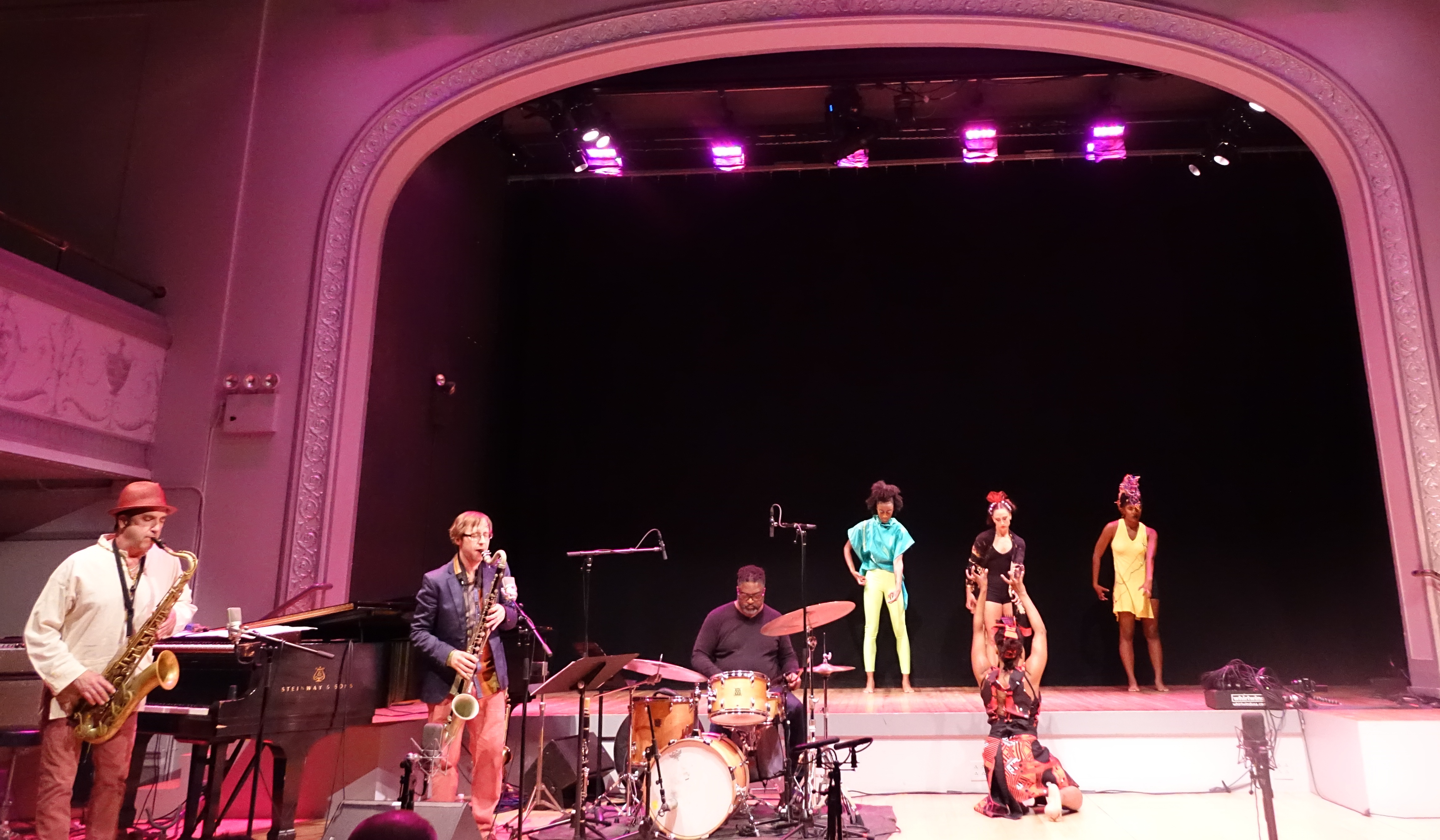 Davalois Fearon Dance at the Vision Festival in Roulette, Brooklyn in June 2019