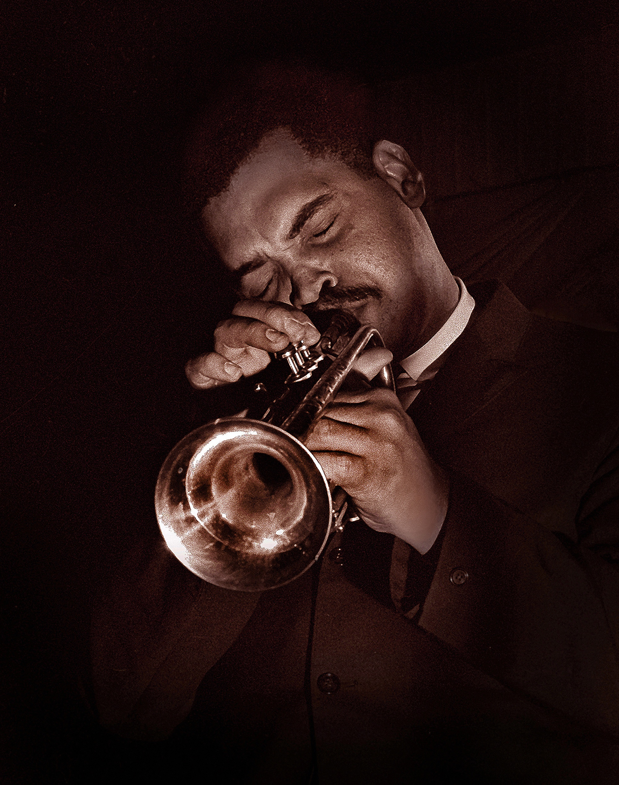 Art farmer at the black hawk jazz club
