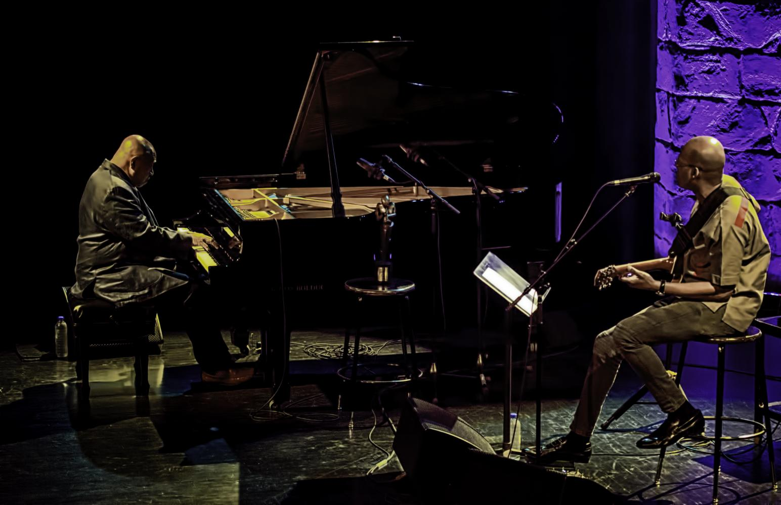 Kenny Barron and Lionel Loueke At The Montreal International Jazz Festival 2016