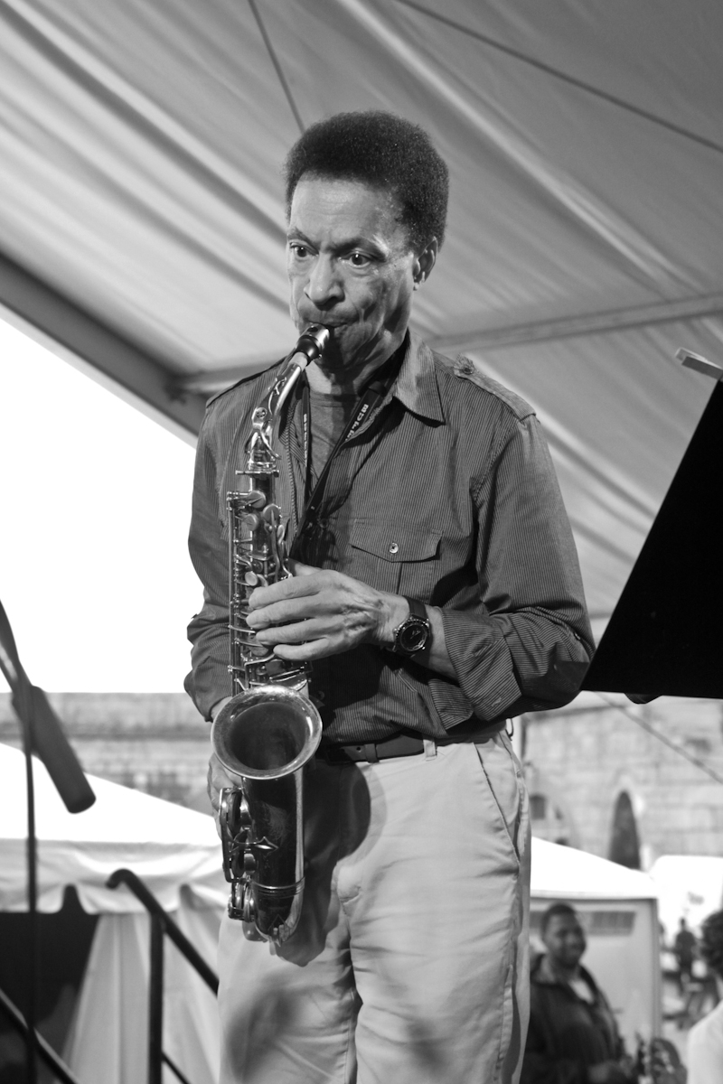 Bunky Green at the Newport Jazz Festival