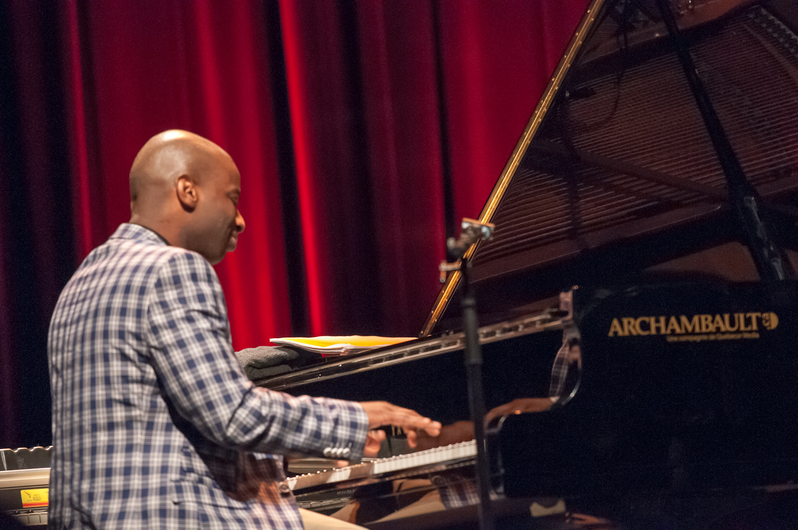 Anthony Wonsey with the Carmen Lundy at the Montreal International Jazz Festival