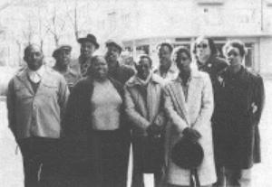 Margie Evans, Carey and Lurrie Bell, Odie Payne, Sunnyland Slim, Louisiana Red, Hubert Sumlin, John Cephas and Phil Wiggins in Hamburg, Germany