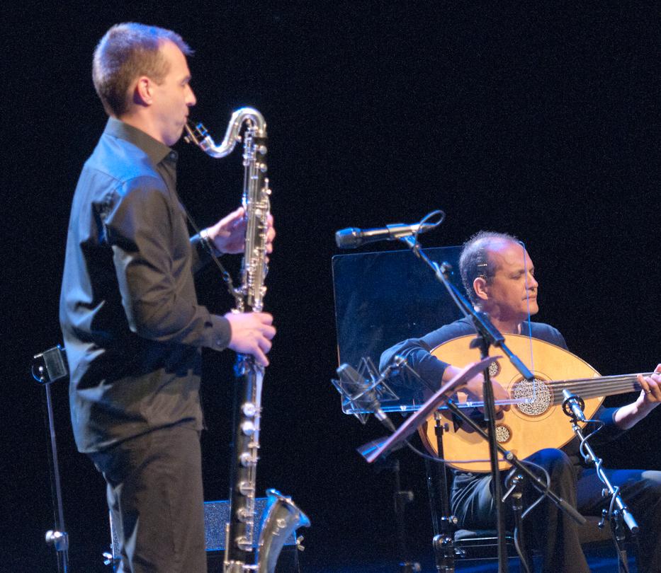 Klaus Gesing and Anouar Brahem the Astounding Eyes of Rita with Klaus Gesing and Anouar Brahem at the Montreal International Jazz Festival 2011
