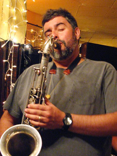 Tony Malaby with Michal Attias' Clinamen - 55 Bar 2005