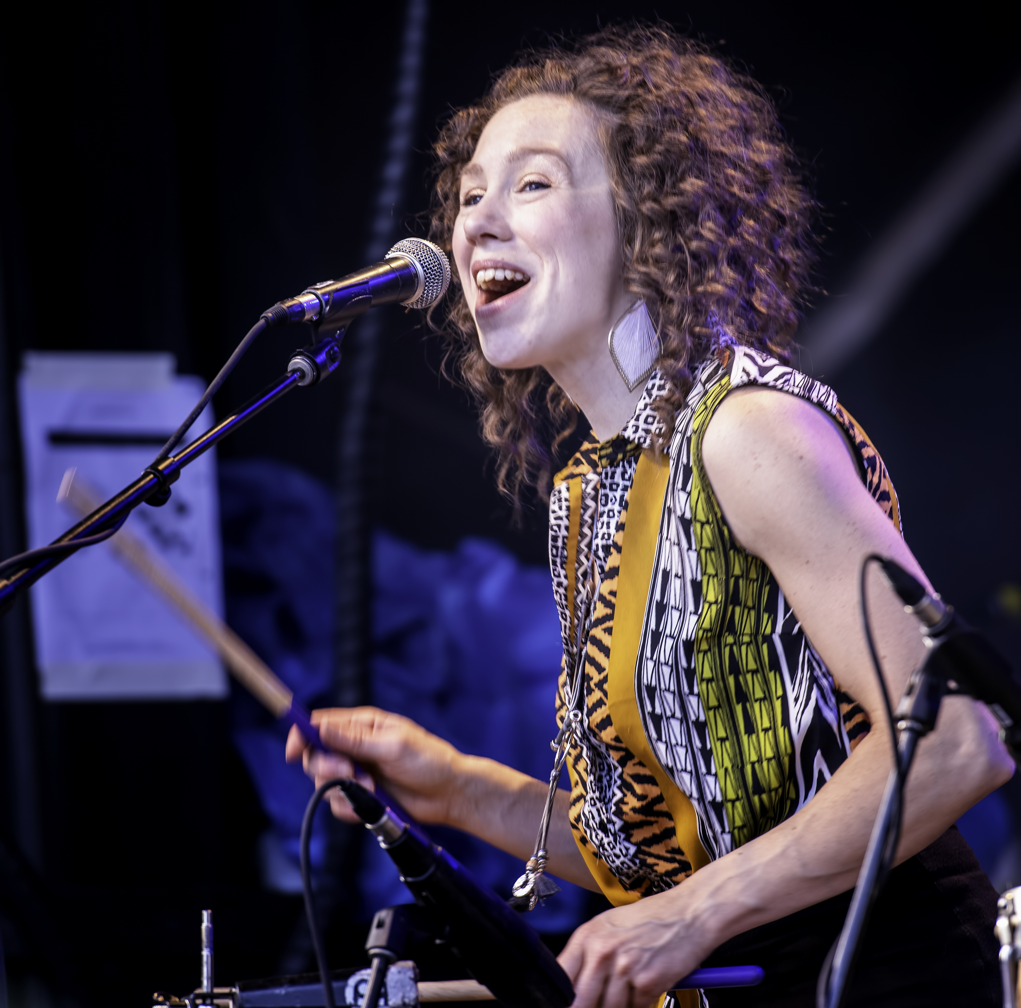 Isabelle Delaney with Afrikana Soul Sister At The Montreal International Jazz Festival 2019