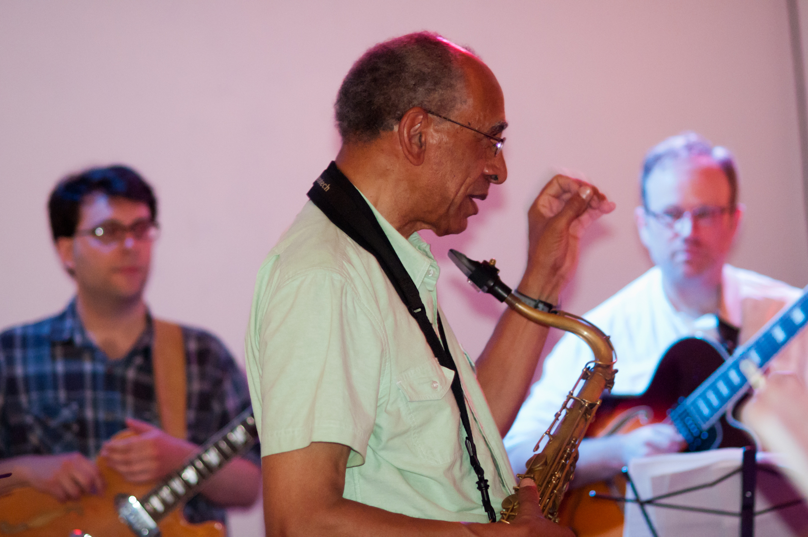 John Tchicai Conduction at the Vision Festival 2011