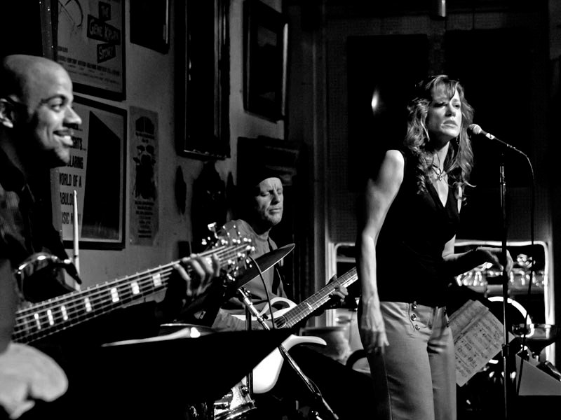 Mary Jenson at Angelica's Bistro May 2011