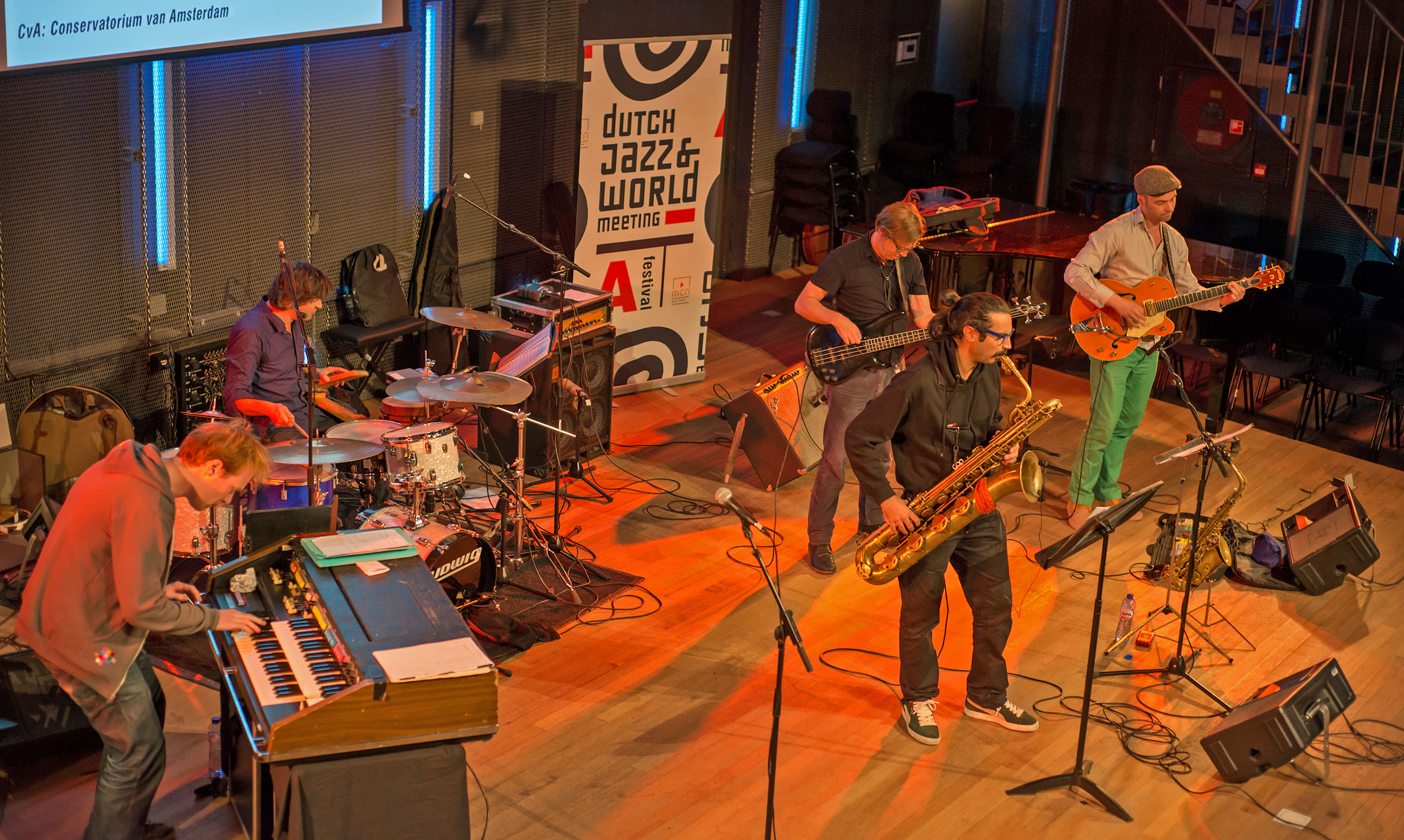 Pumporgan at Dutch Jazz & World Meeting 2012.